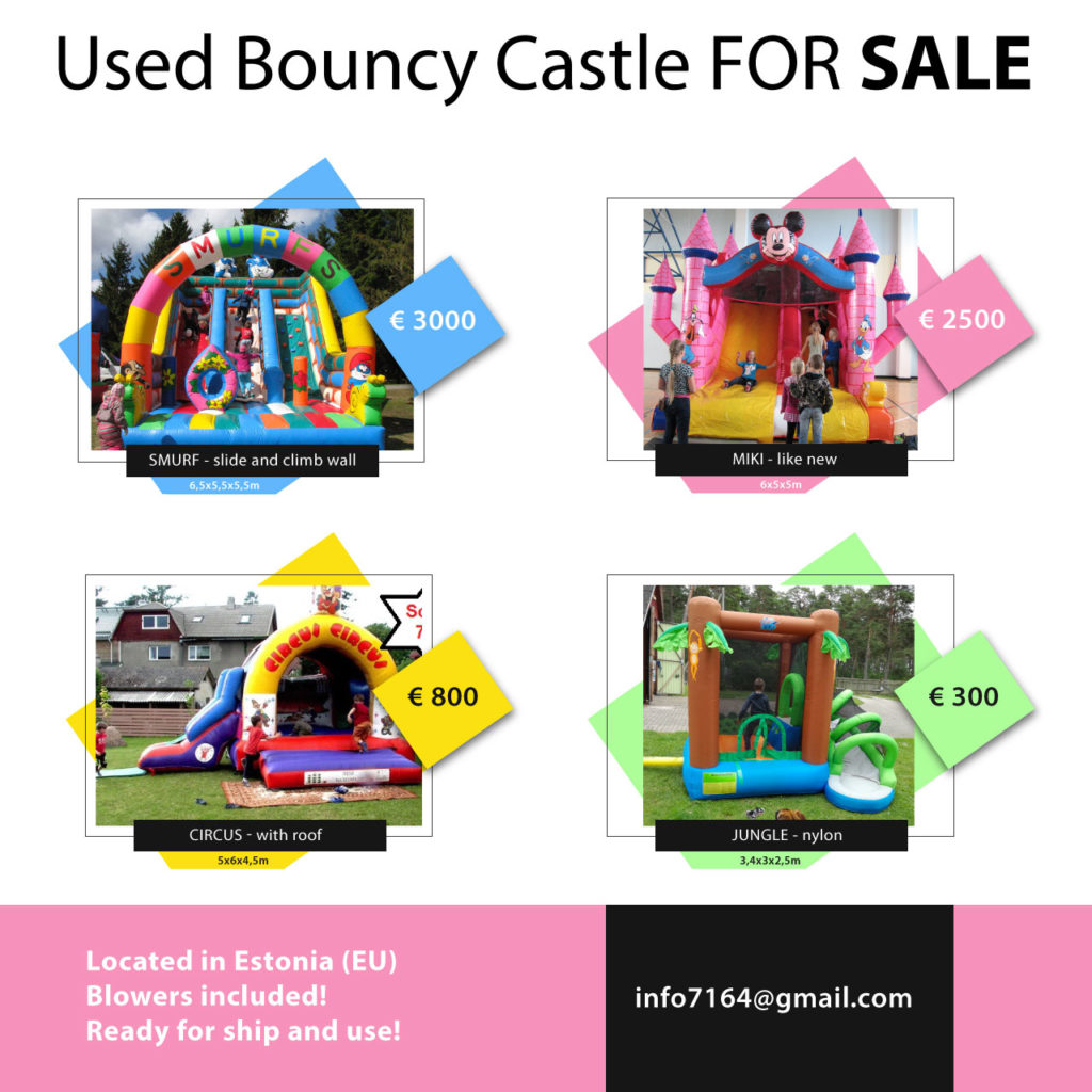 used bouncy castle for sale